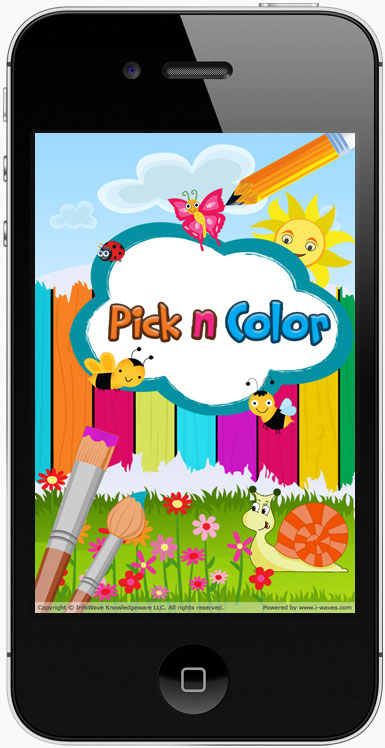 Coloring app for kids