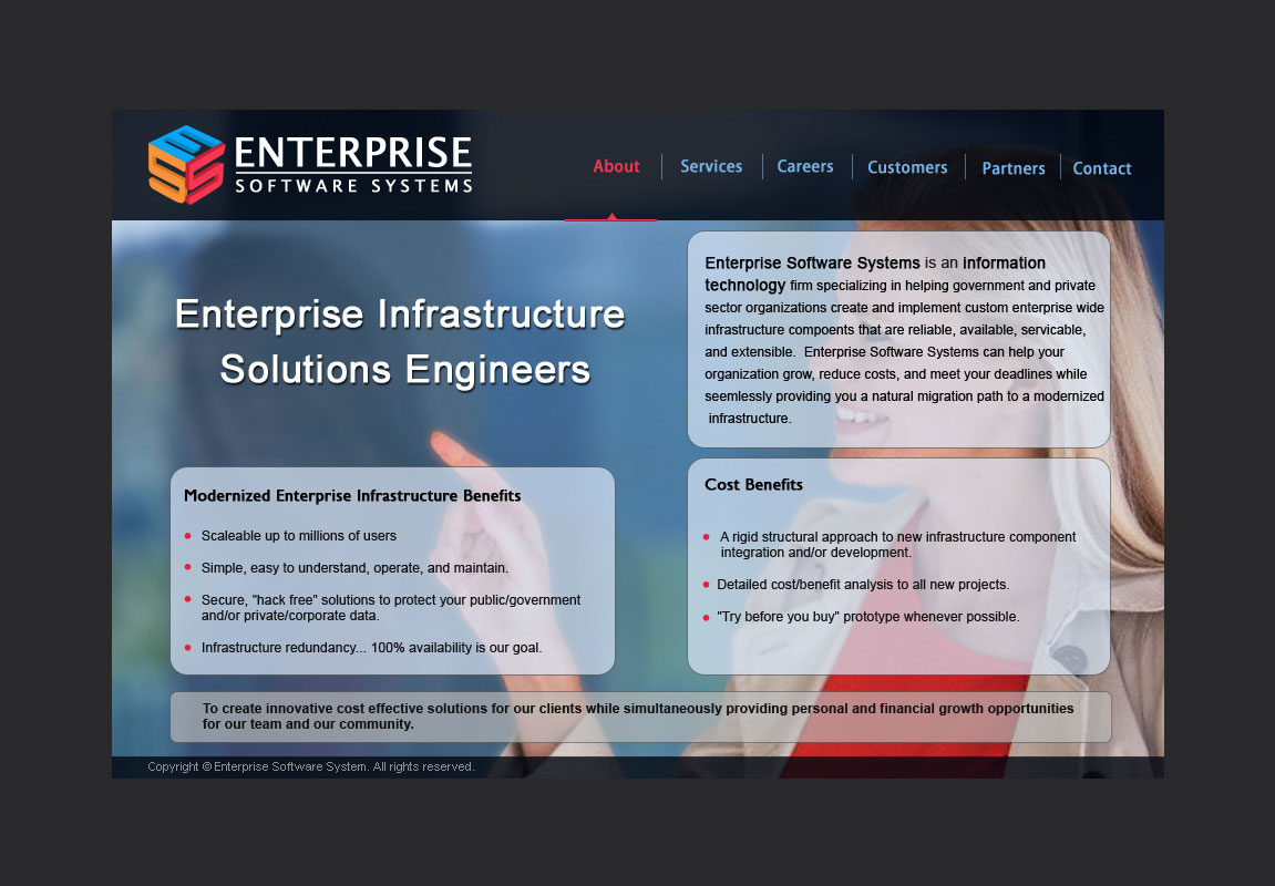 Website for ESS Enterprise